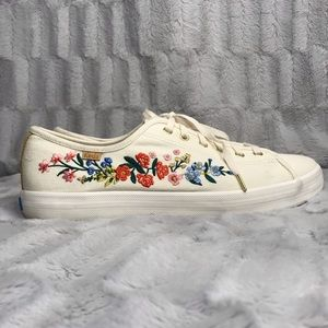 Keds Rifle Paper & Co. Floral Embroidered Sneaker